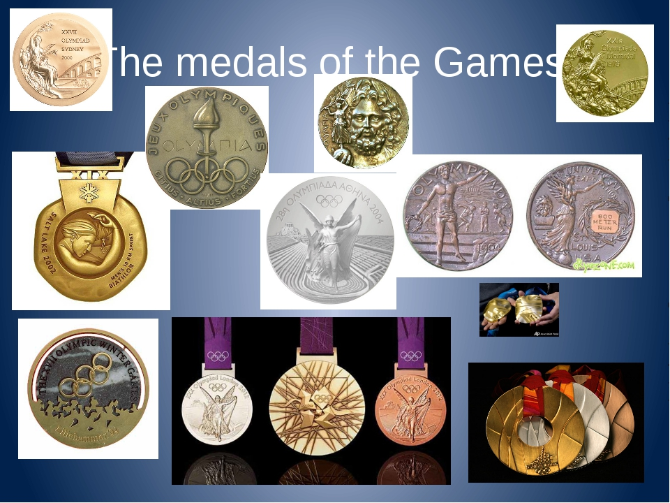The medals of the Games.