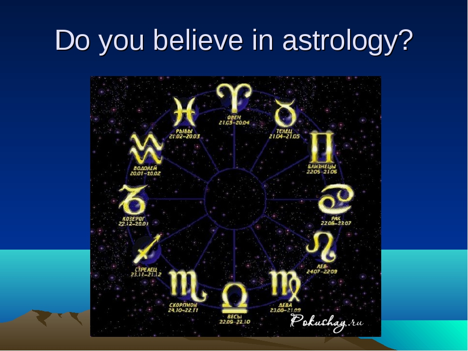 Do you believe in astrology?