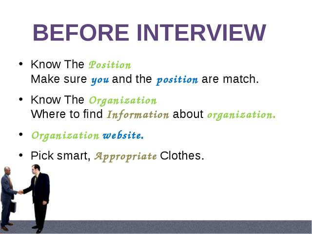 Homework: record your taking part in an interview or video your interviews. d...