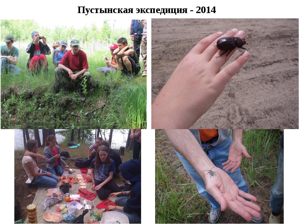 Пустынская экспедиция - 2014
