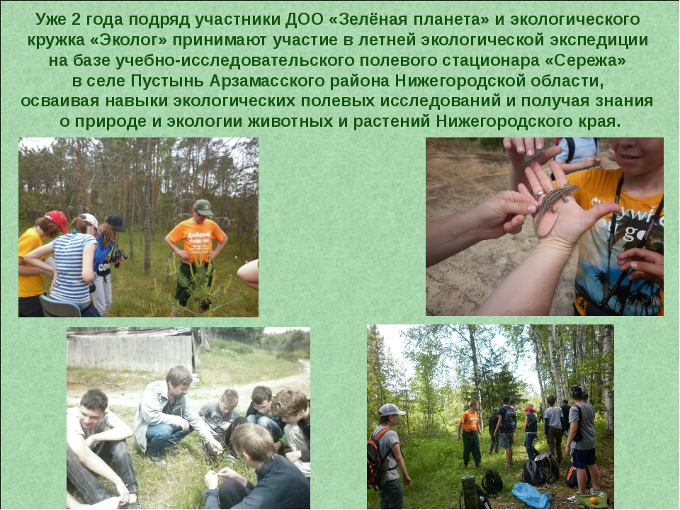 Уже 2 года подряд участники ДОО «Зелёная планета» и экологического кружка «Эк...