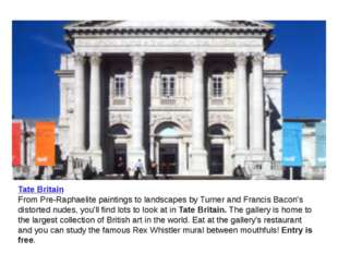 Tate Britain From Pre-Raphaelite paintings to landscapes by Turner and Franci