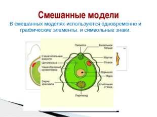 Смешанные модели В смешанных моделях используются одновременно и графические