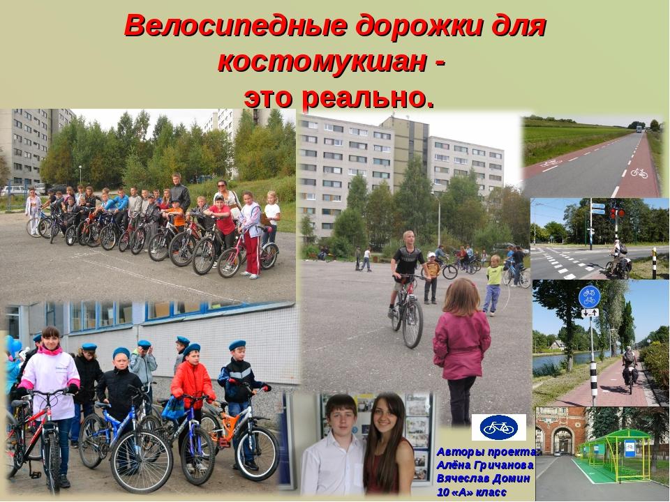 Велосипедные дорожки для костомукшан - это реально. Авторы проекта: Алёна Гри...