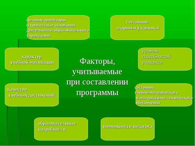 целевые ориентиры и ценностные основания деятельности образовательного учреж...