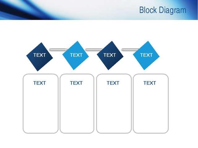 www.themegallery.com Company Logo Block Diagram TEXT TEXT TEXT TEXT TEXT TEXT...