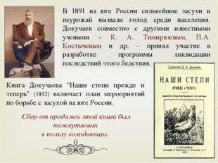 """Книга Докучаева """"Наши степи прежде и теперь"""" (1892) включает план мероприятий"""