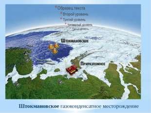 Штокмановское газоконденсатное месторождение