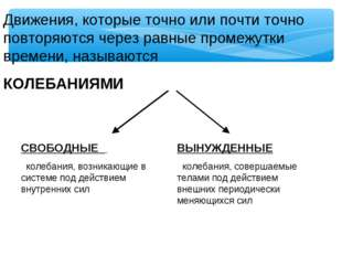 Движения, которые точно или почти точно повторяются через равные промежутки в