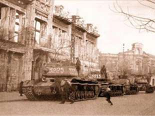 13 апреля 1944 года на улицы города пришел праздник: советские войска освобо