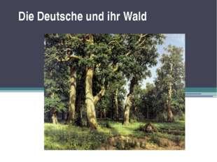 Die Deutsche und ihr Wald