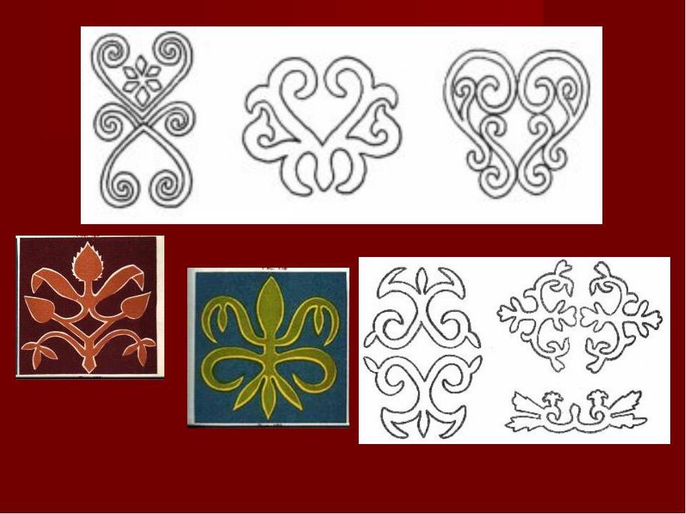 Адыгский орнамент и узоры
