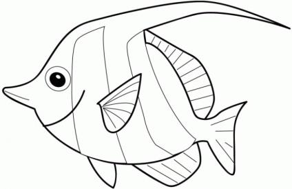 H:\урок\fish-coloring-page.gif