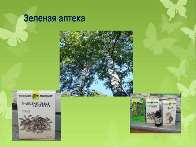 Зеленая аптека