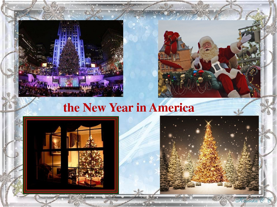the New Year in America