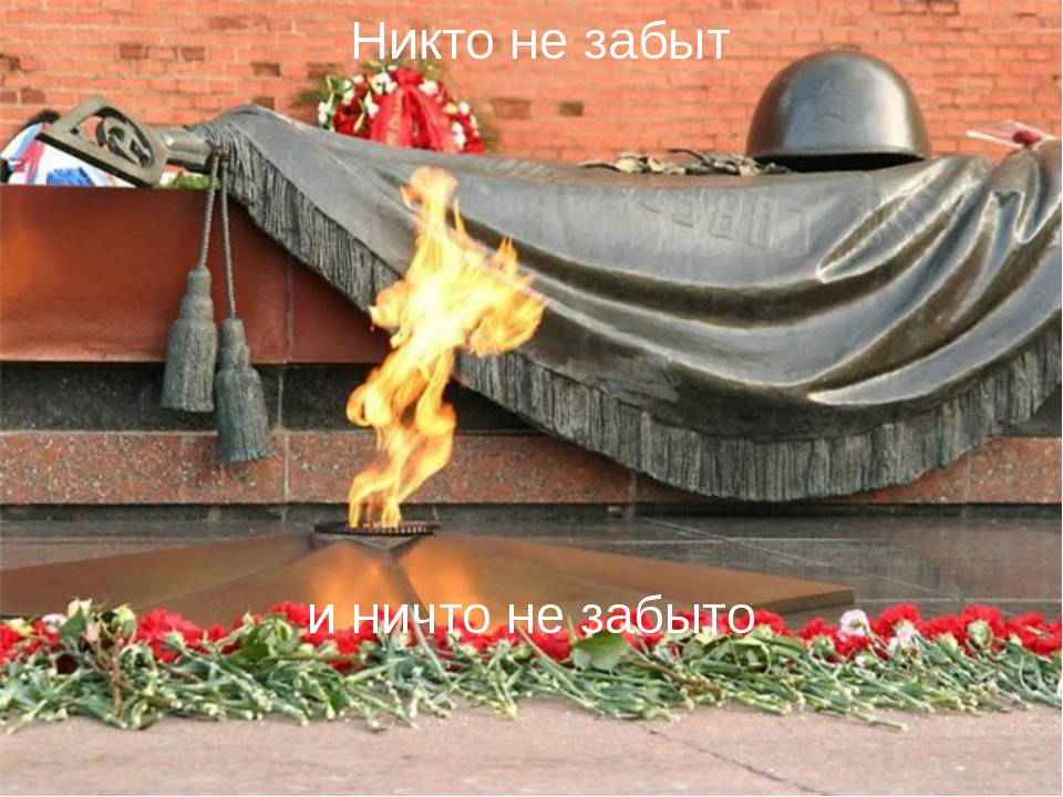 Никто не забыт и ничто не забыто