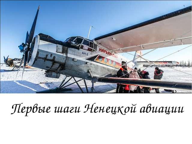 Первые шаги Ненецкой авиации