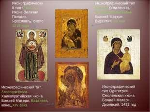 Иконографический тип Оранта. Икона Великая Панагия. Ярославль, около 1218 год