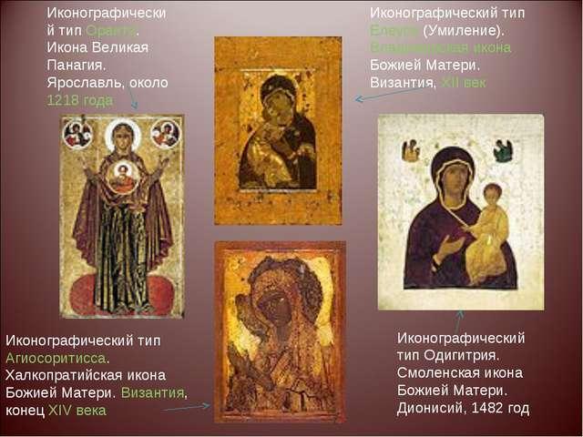Иконографический тип Оранта. Икона Великая Панагия. Ярославль, около 1218 год...