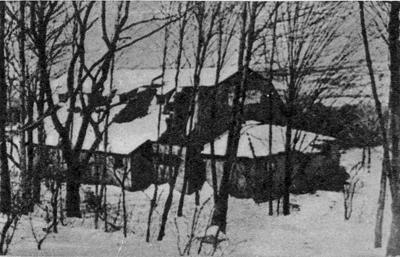 Зрительный зал Театр-студии М.А. Чехова в Дартингтон-холле. Англия. 1936