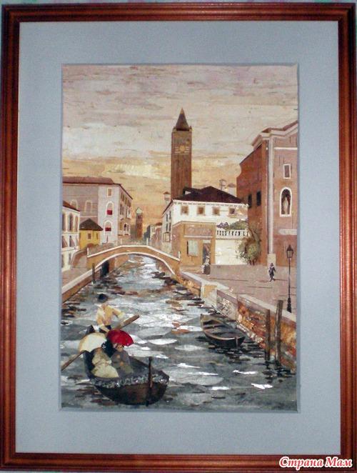 Фото Моя Венеция.(My Venice), Флористика ( ошибана)., Ирина Орлова - Фото@Mail.Ru
