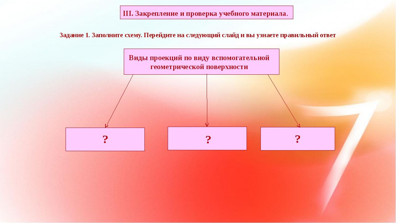 Задание 1. Заполните схему. Перейдите на следующий слайд и вы узнаете правил...
