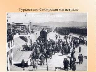Туркестано-Сибирская магистраль