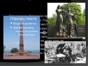 Героическая оборона во время Великой Отечественной войны. Город стоял насмерт
