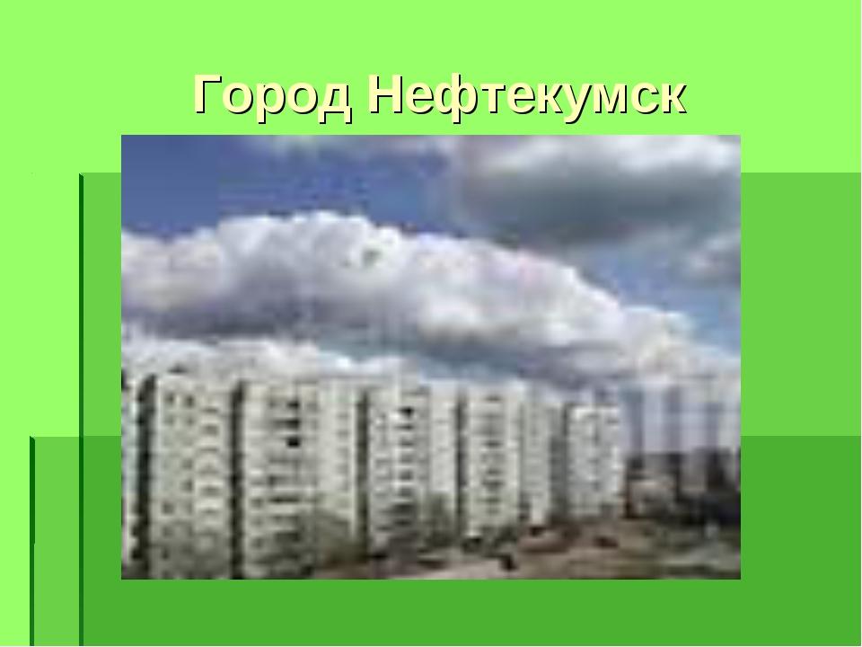 Город Нефтекумск