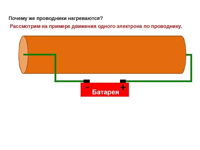 Электрический ток в металлическом проводнике – это упорядоченное движение эле...
