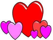 Анимационные картинки сердечки, любовь