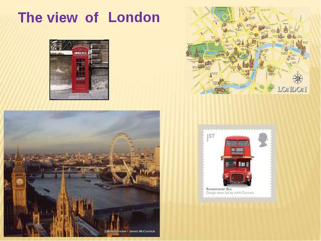 The view of London
