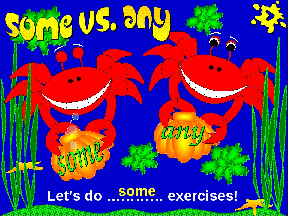 Let's do ………… exercises! some