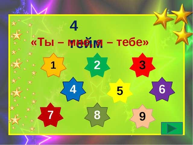 5 гейм «Конкурс капитанов»