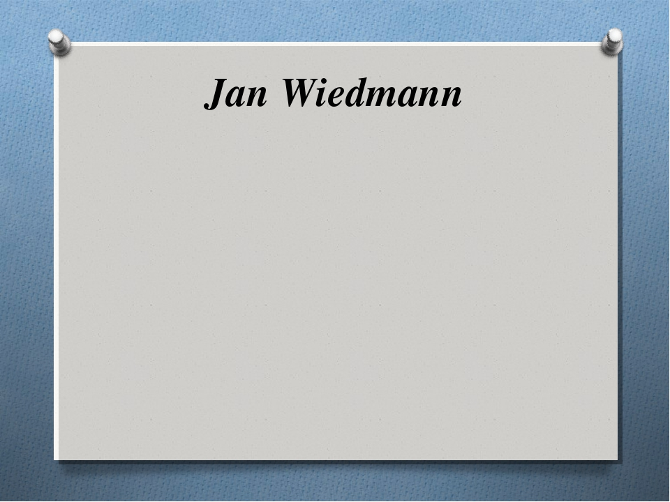 Jan Wiedmann