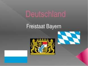Deutschland Freistaat Bayern