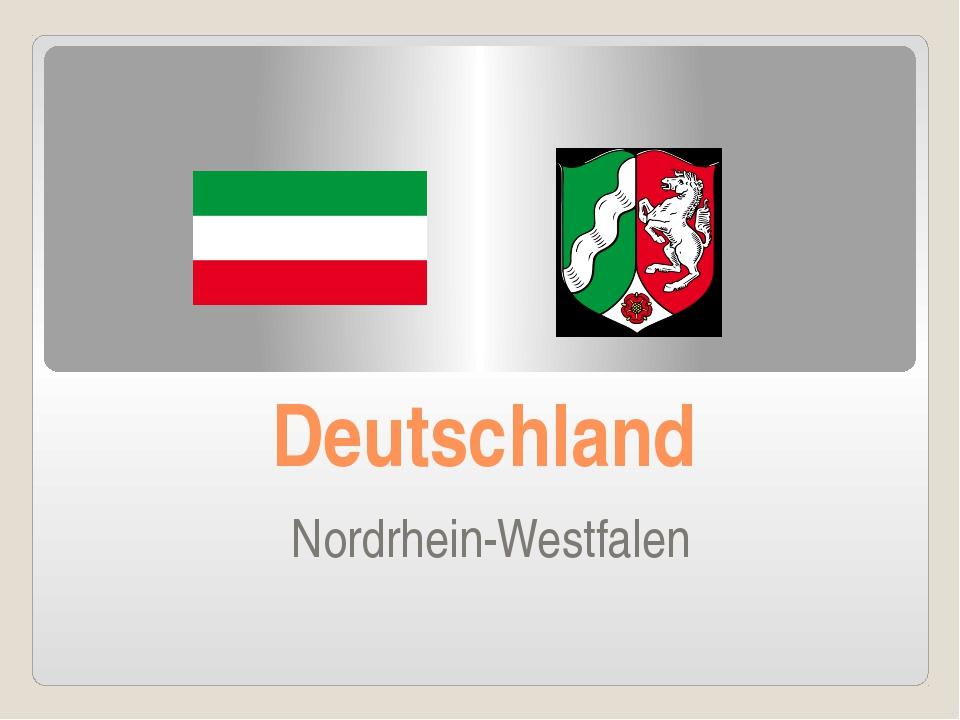 Deutschland Nordrhein-Westfalen