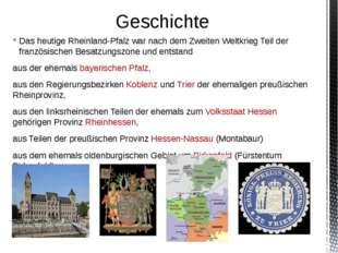 Das heutige Rheinland-Pfalz war nach dem Zweiten Weltkrieg Teil der französis