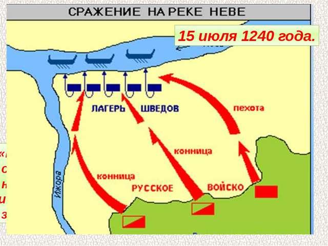 Первыми в поход на Русь начали шведские феодалы. В июле 1240 года они высадил...