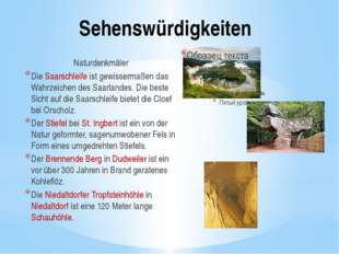Sehenswürdigkeiten Naturdenkmäler Die Saarschleife ist gewissermaßen das Wahr