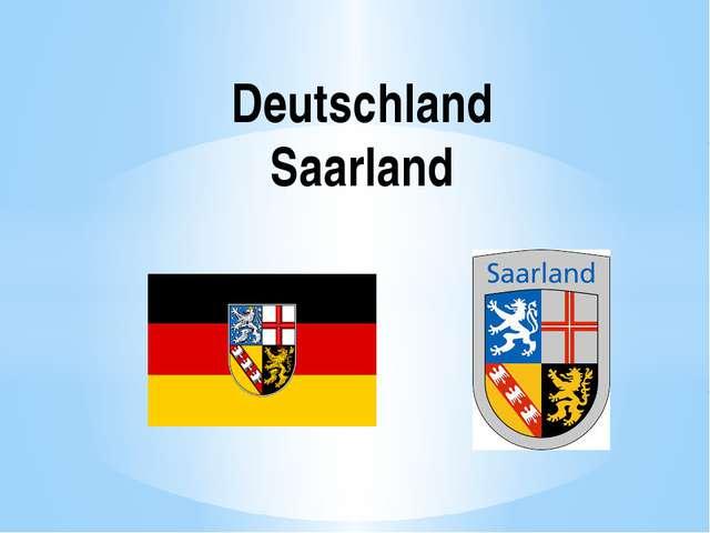 Deutschland Saarland