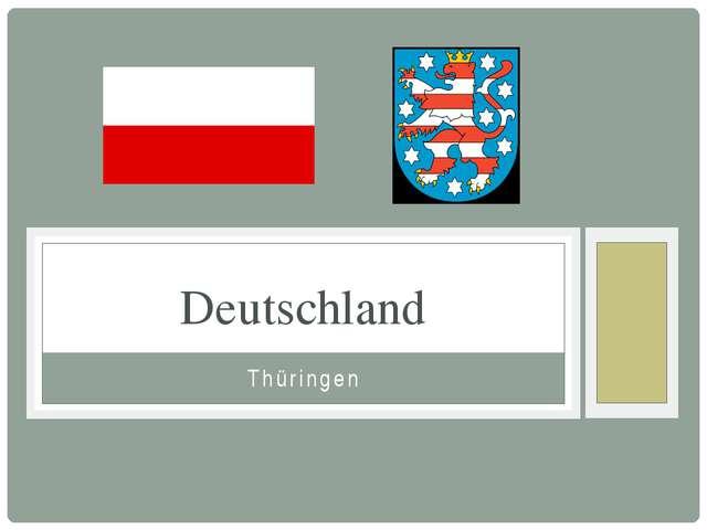 Thüringen Deutschland