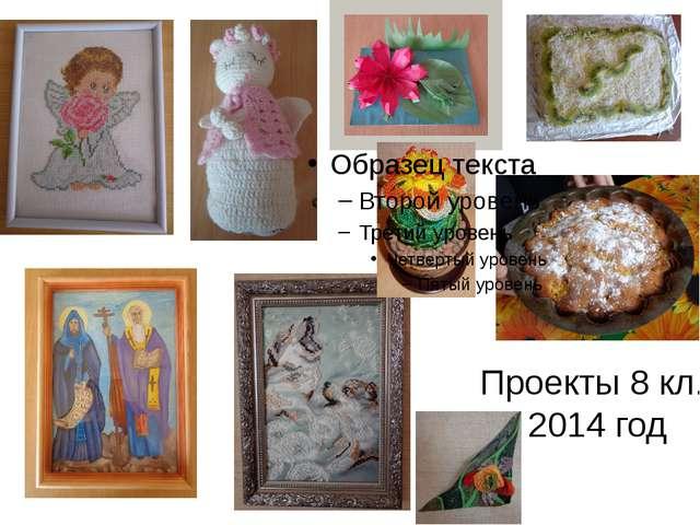 Проекты 8 кл. 2014 год