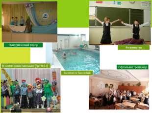 Занятия в бассейне Экологический театр Физминутка Офтальмо тренажер В гостях