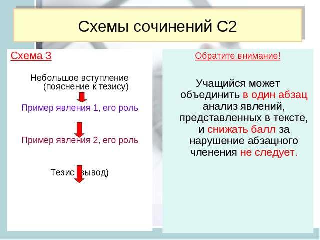 Обратите внимание! Учащийся может объединить в один абзац анализ явлений, пре...