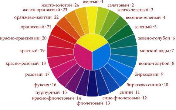 Цветовой круг - как можно описать каждый цвет. Особенности правильного подбора цветов.