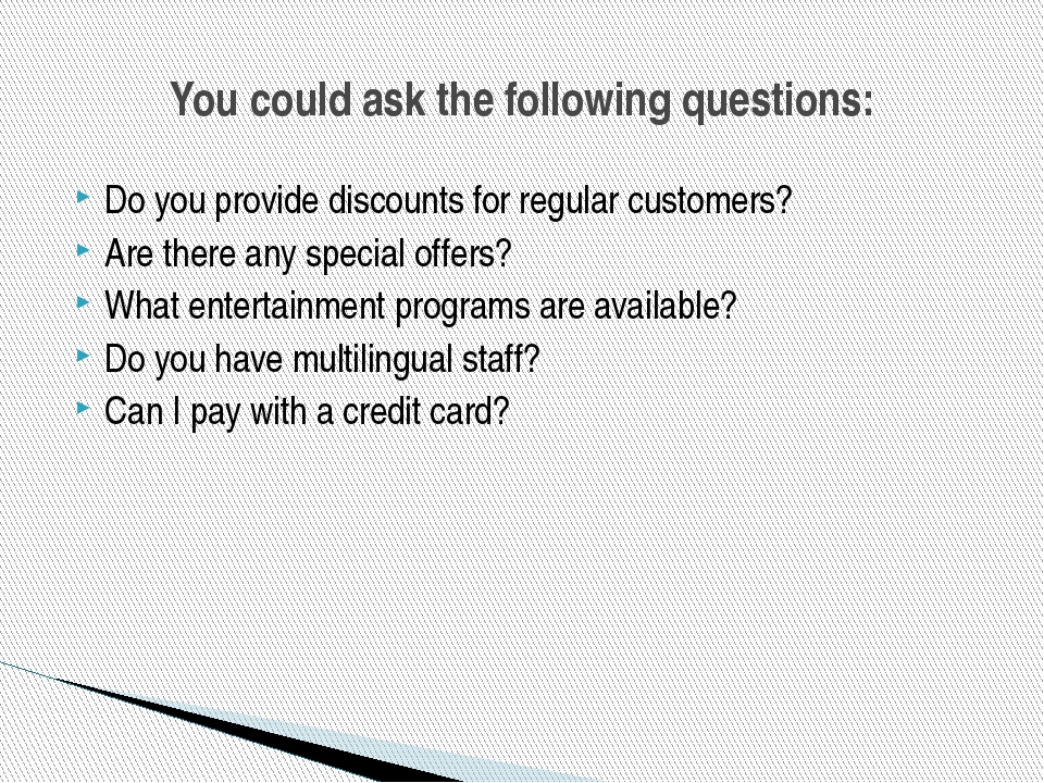 Do you provide discounts for regular customers? Are there any special offers?...