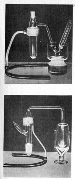 Рис. 81. Приборы И. и Ф. Кюри, с которыми была получена искусственная радиоактивность