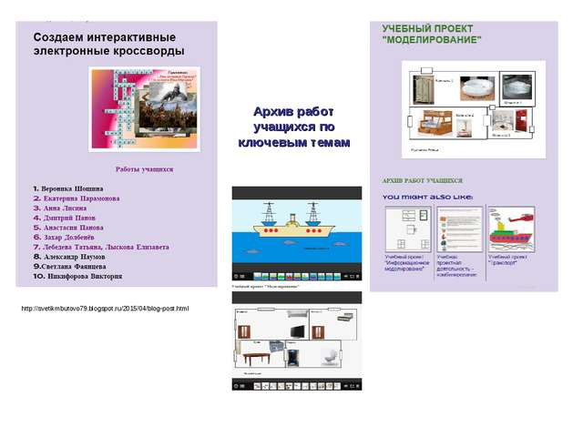 http://svetikmbutovo79.blogspot.ru/2015/04/blog-post.html Архив работ учащихс...
