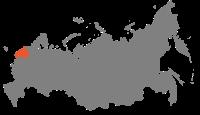 Map of Russia - Northwestern economic region.svg